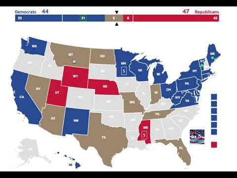 The Democratic Party's Pathway to a Majority in the 2018 Senate Elections