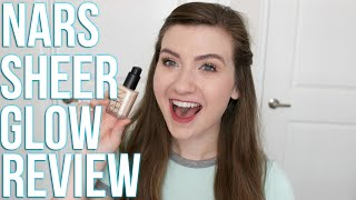 NARS SHEER GLOW REVIEW + DEMO