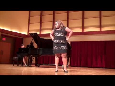 Nattalyee Heather Randall singing
