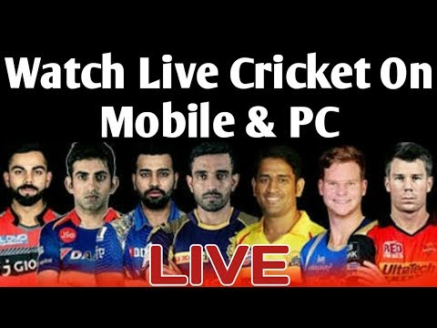 Live Cricket Streaming On Mobile & PC !!