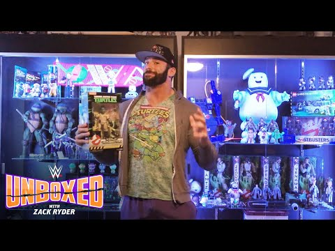 Zack Ryders obsessions collide with TMNT Ninja Ghostbusters: WWE Unboxed with Zack Ryder