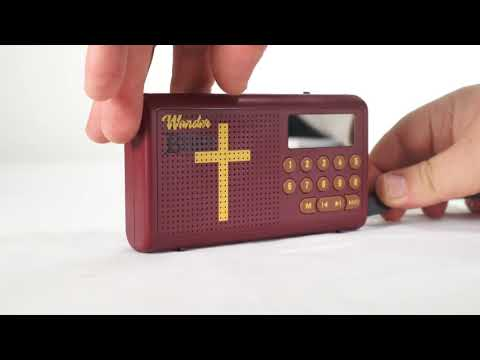 Wonder Bible - How to use your Audio Player - YouTube