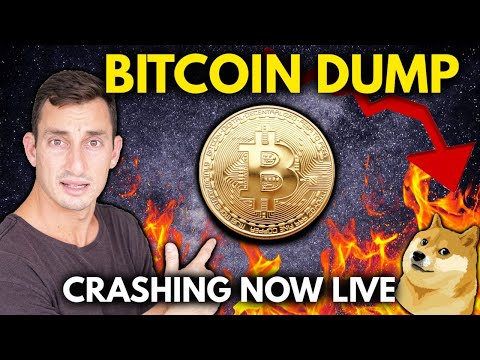 BITCOIN CRASHING LIVE! 😳 What I'm Buying In The Dip