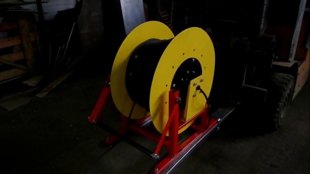 Испытания работы основных узлов моторного барабана.