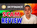 Sky Finance Limited - DEFINITELY A BOGUS SCAM (REVIEW) 😷