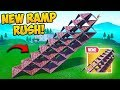 *NEW* INSANE RAMP RUSH TRICK! - Fortnite Funny Fails and WTF Moments! #500