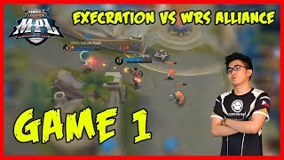 Kimmy by Z4pnu! Execration vs WRS Alliance | MPL-PH Game 1