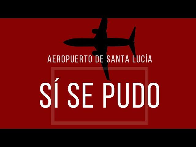 #EnVivo Inicio de obra Aeropuerto de Santa Lucía… sí se pudo #PresidenteAMLO