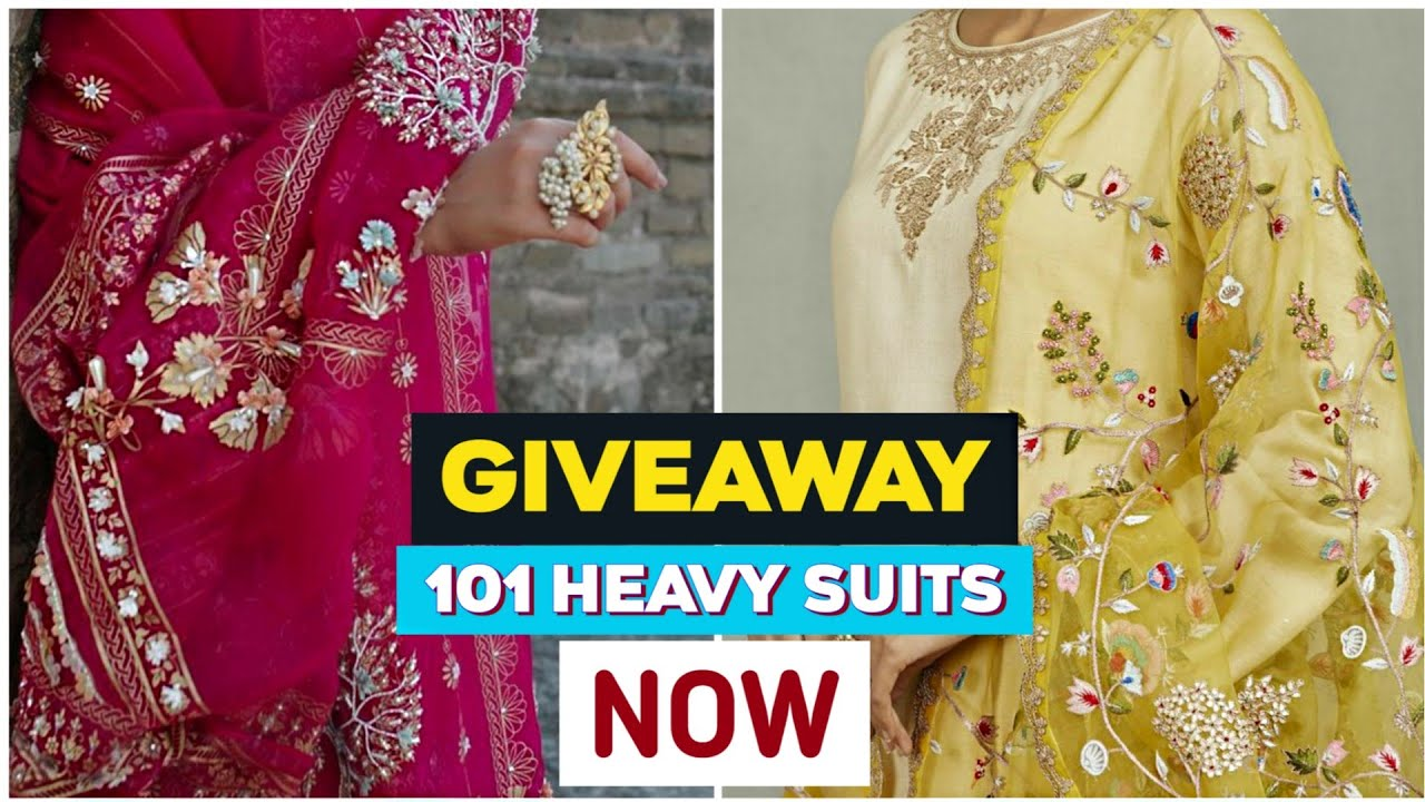 सब कुछ फ्री है !!  FREE    Heavy Partywear Suit Dupatta Wholesale Market Sai Dresses