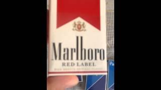 обзор оригинальных  американских сигарет парламент и мальборо