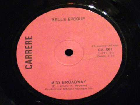 Miss broadway - Belle epoque