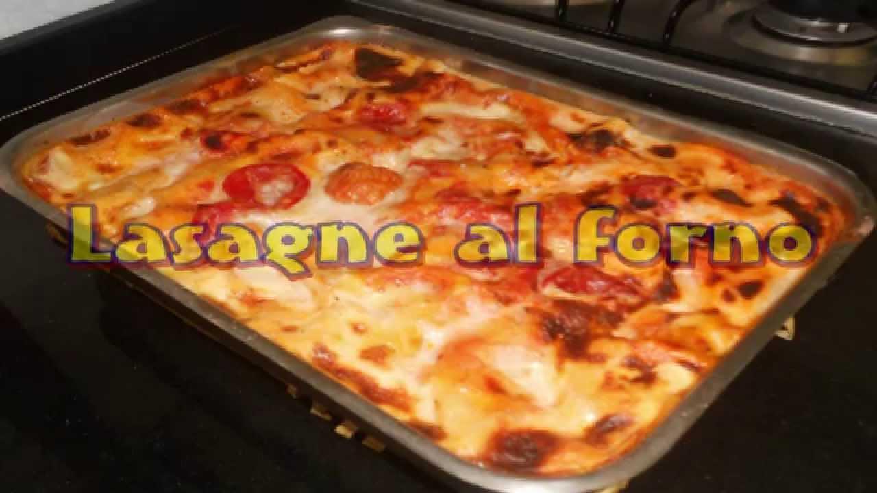 come fare delle spettacolari lasagne al forno cotte nel forno a ... - Come Cucinare Le Lasagne