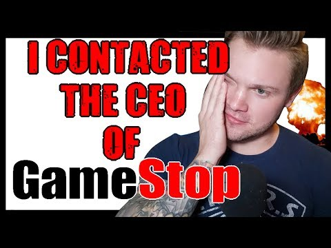 I Contacted The CEO Of Gamestop Directly | Gamestop Chronicles | He's Furious