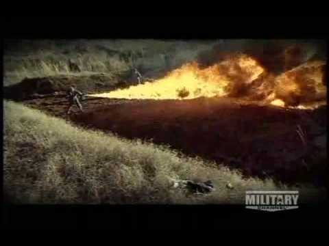 Flamethrowers in World War Two