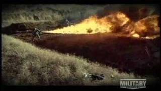Flamethrowers in World War Two
