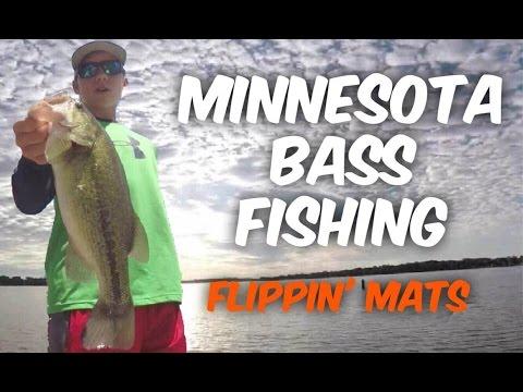 Minnesota Bass Fishing ~ Flippin' Mats