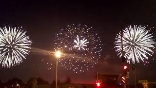 Фестиваль фейерверков в Братеево 19.08.2017