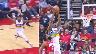 Zion Williamson SHOCKS Rockets With Half Court Alley-Oop Dunk From Lonzo Ball! Pelicans vs Rockets