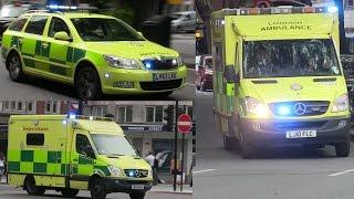 [Collection] Ambulances responding - London Ambulance Service