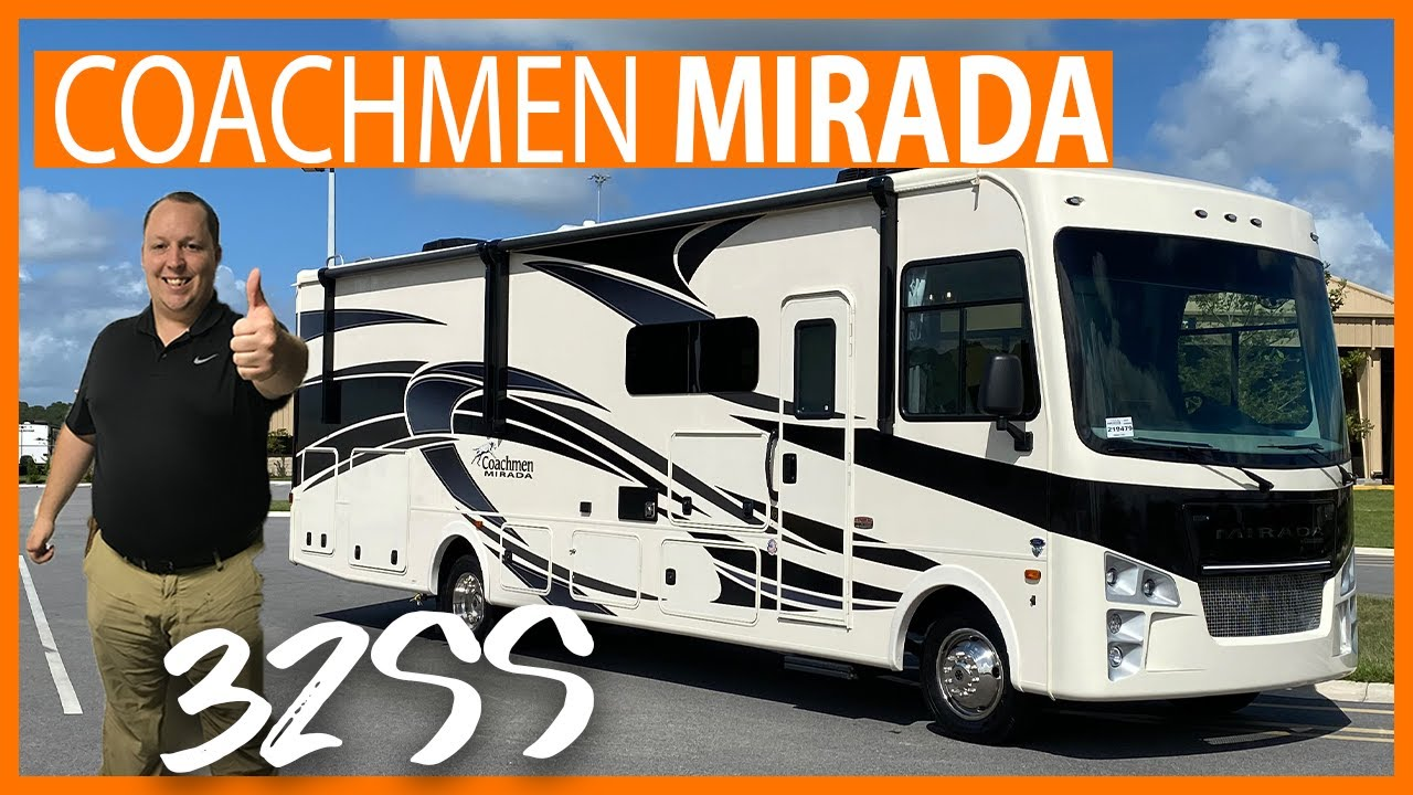 Newly Redesigned Coachmen Mirada with Outside Kitchen!