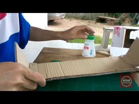 ประดิษฐ์กล่องเก็บสายไฟ สิ่งประดิษฐ์จากวัสดุเหลือใช้