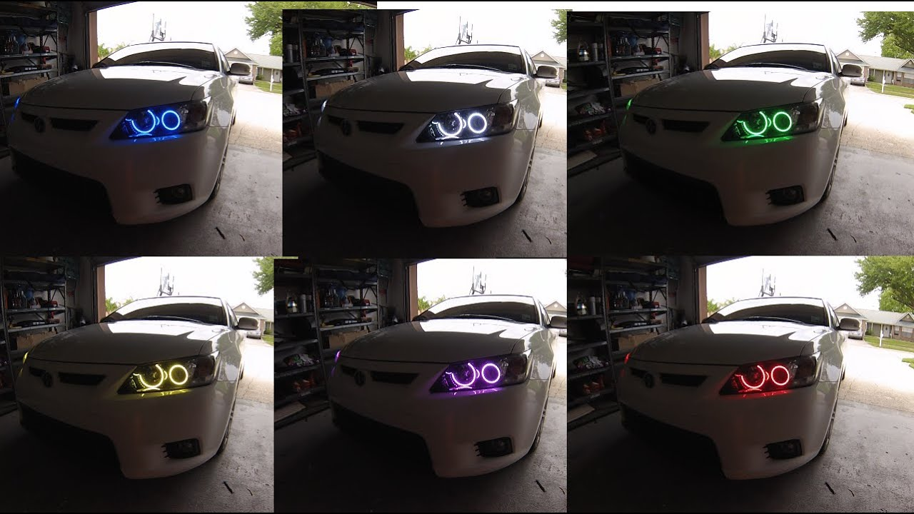 Oracle 2 0 Color Shift Kit Scion Tc 2013 Youtube