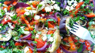 Ароматные овощи в духовке Вкусно и полезно