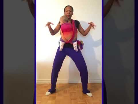 Baby Carrier Dance Routine   Soca, Oh La La Lay, Destra Garcia