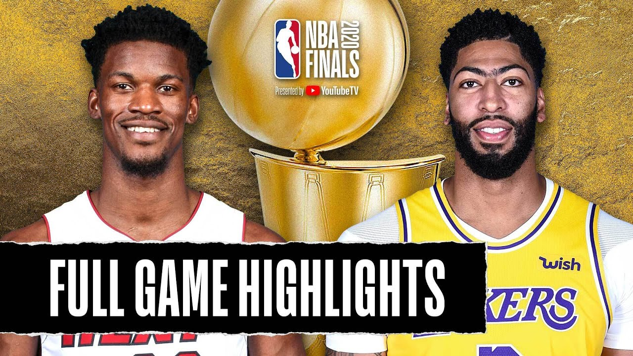 HEAT at LAKERS | FULL GAME HIGHLIGHTS | SEPTEMBER 30, 2020