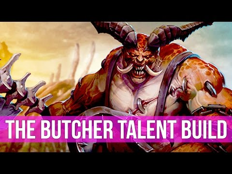 Heroes of the Storm: The Butcher Talent Build Guide! (4K Gameplay)