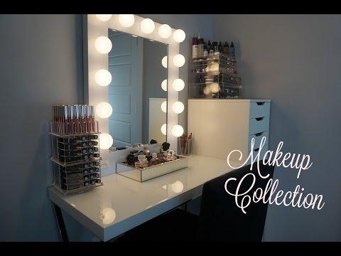 VANITY TOUR / MAKEUP COLLECTION | MacKenzie Hyatt