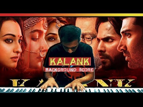 Kalank Background Score  Sanchit Balhara & Ankit Balhara  Piano Cover