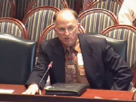 Bigotted testimony in the MD House of Delegates 3/11/2009