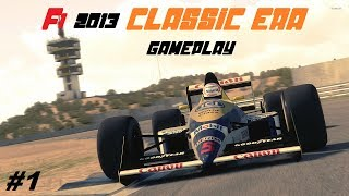 F1 2013 CLASSIC EDITION GAMEPLAY #1