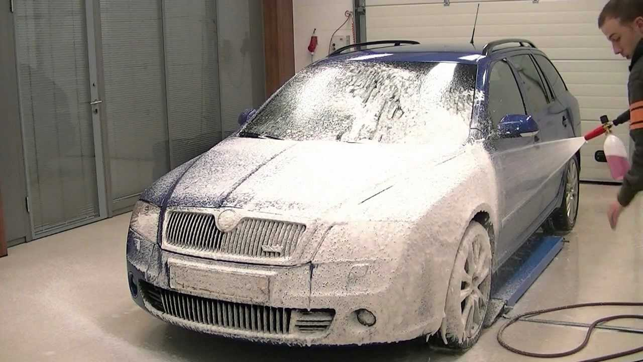 Foaming A Car With A Karcher Foamlance Youtube