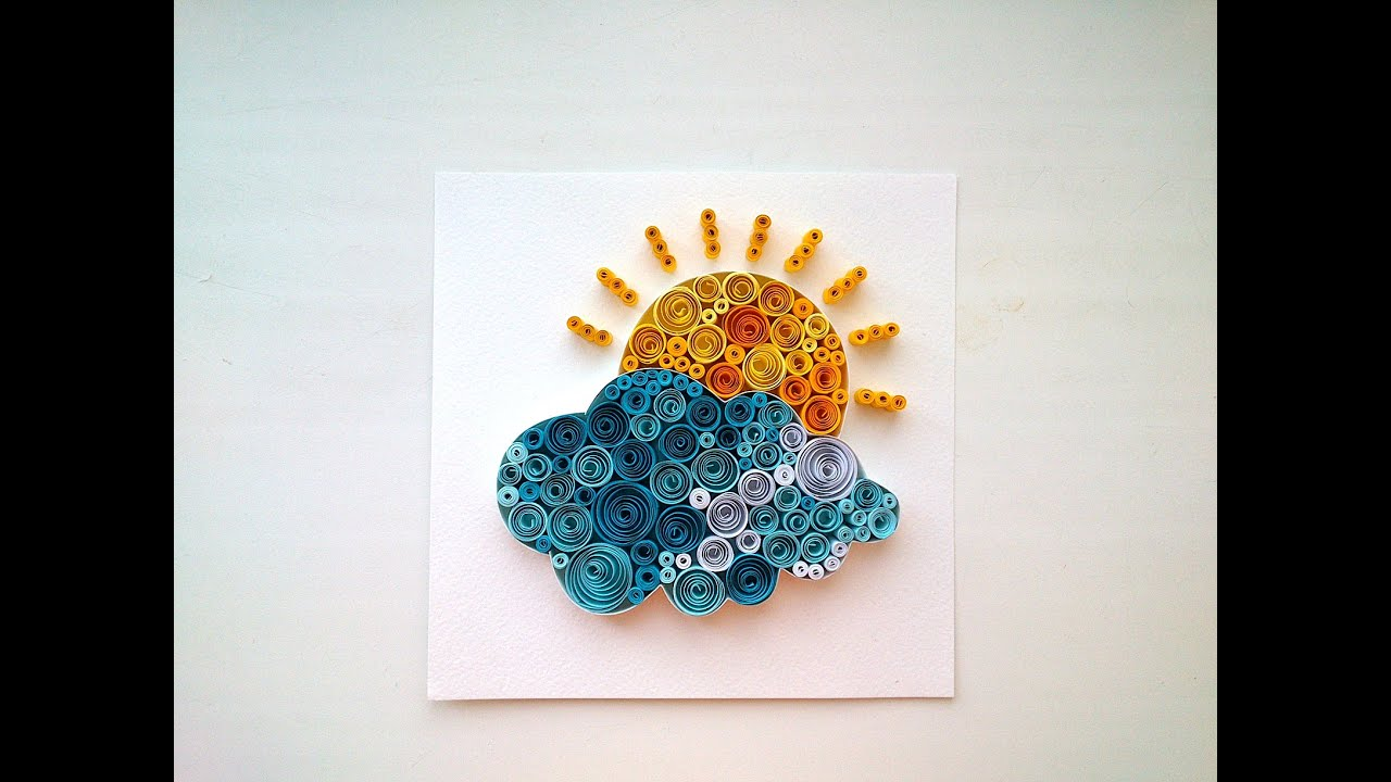 Paper Quilling Ideas:Quilling Pictures. DIY Room Decor
