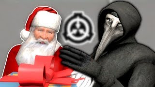 OPERATION SAVE SANTA FROM SCP FACILITY! - Garry's Mod Gameplay