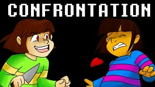 Undertale - Confrontation Frisk & Chara Thank you for 25k Subs!!