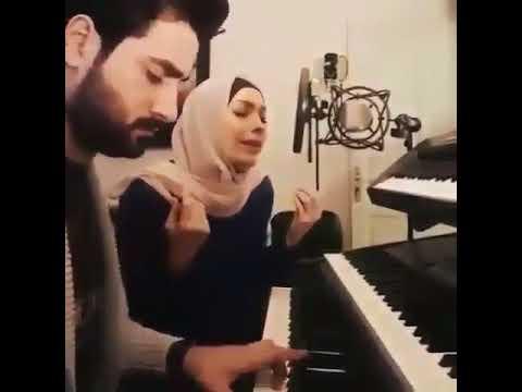 انشودة رقت عيناي شوقا - امل حجازي  Amal Hijazi