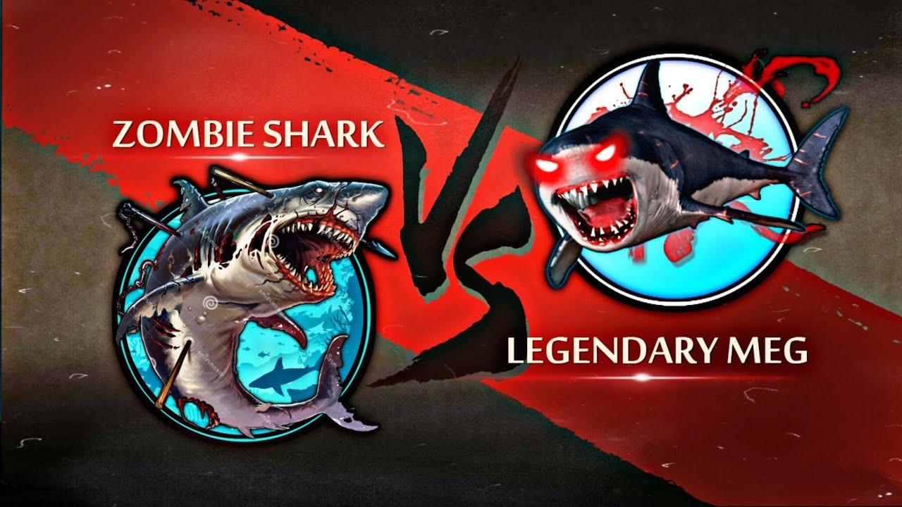 Shadow Fight 2 Zombie Shark Vs Legendary Megalodon
