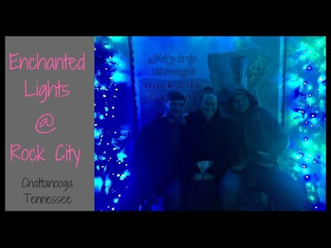 Enchanted Garden Of Lights At Rock City In Chattanooga Tennessee 2018 Youtube