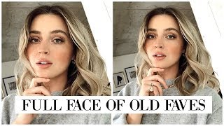 FULL FACE Using NOTHING NEW 😱#FFF