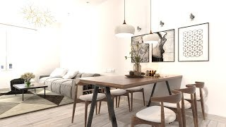 Interior Visualizations: Nice Living Room 029 Interior Rendering using Vray for Sketchup