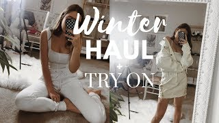 WINTER TRY ON HAUL | Gucci, Missguided, I Am GIA, HM, Forever 21, & more!
