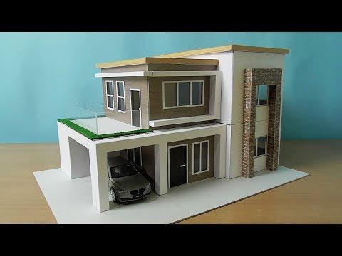DIY Simple Miniature House | Modern House Model