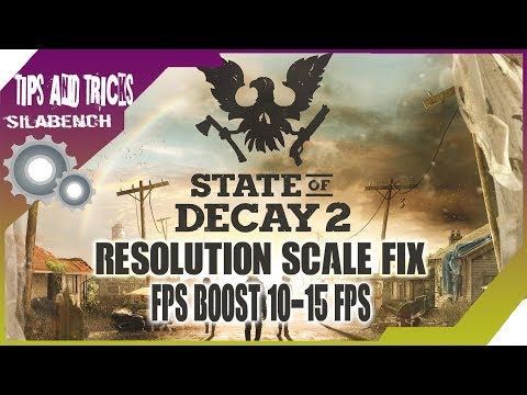 State Of Decay Resolution Fix
