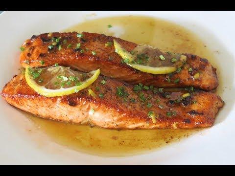 recette-118-:-un-saumon-tendre-au-beurre-et-au-citron-en-5-minutes-/-lemon-butter-salmon