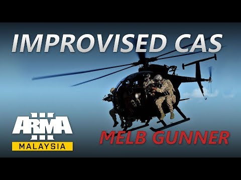 ArmA Malaysia - Improvised CAS, Little Bird Gunner