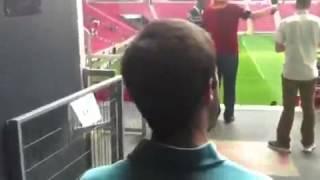 Primera vez que MI ve desde dentro el Türk Telekom Arena