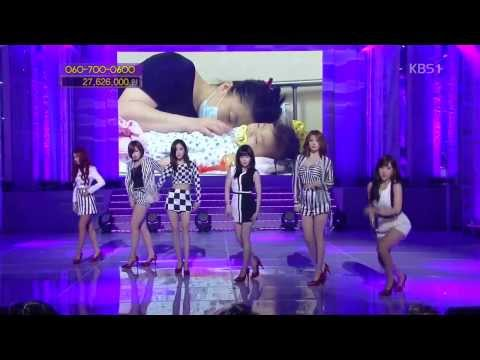 131012 Number 9 - T-ara (KBS Love Request)
